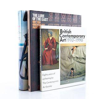 SET OF THREE BOOKS, BRITISH ART MOVEMENT