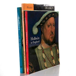 3 BOOKS ON HOLBEIN