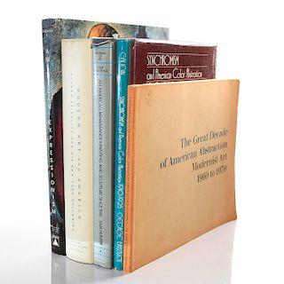 5 BOOKS ON MODERN AMERICAN ART