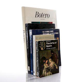5 BOOKS ON LATIN AMERICAN AND SPANISH ART