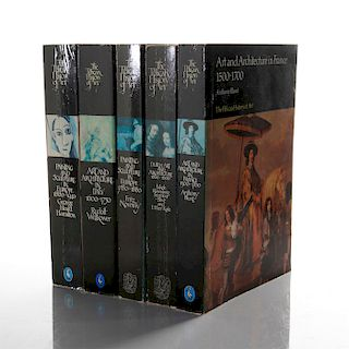 5 PELICAN HISTORY OF ART BOOKS