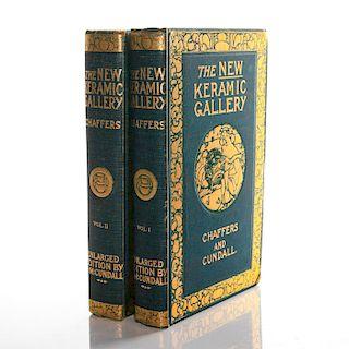 THE NEW KERAMIC GALLERY, 2 VOLUMES, BOOKS