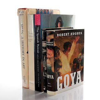 5 BOOKS, ON SPANISH ART HISTORY