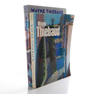 2 BOOKS, ON WAYNE THIEBAUD