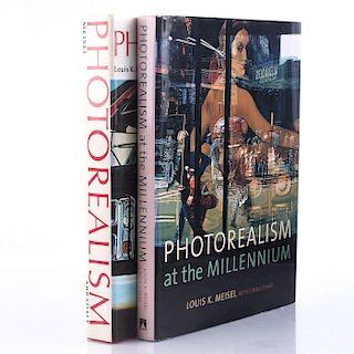 2 PHOTOREALISM ART BOOKS BY LOUIS K. MEISEL