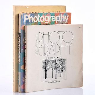 SET OF 3 BOOKS ON PHOTOGRAPHY