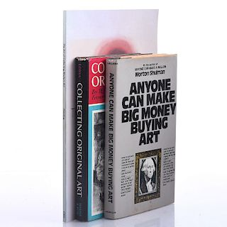 3 BOOKS, ON COLLECTING AND BUYING ART