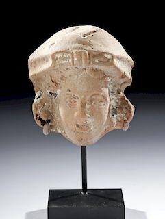 Romano Egyptian Terracotta Head of Isis