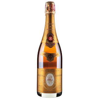 Cristal Champagne. Cosecha 1985. Louis Roederer. Brut  Reims. France.