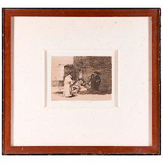 Francisco De Goya (1746 - 1842).