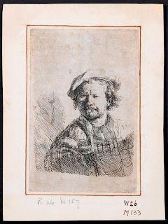 Rembrandt Van Rijn (1606 - 1669).