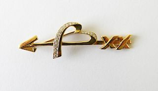 Paloma Picasso for Tiffany & Co Brooch