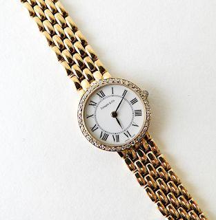 14K Lady's Tiffany & Company Watch