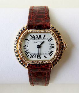18K Lady's Cartier Watch