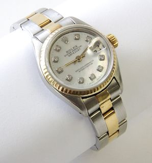 Lady's Rolex Oyster Perpetual DateJust 31