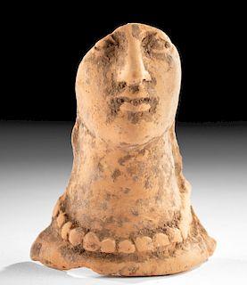 Western Greek Terracotta Votive Face Fragment