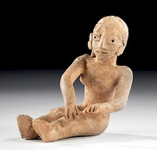 Xochipala Pottery Seated Woman