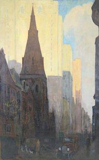 YARNALL ABBOTT (AMERICAN, 1870-1938).