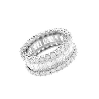 6.08ct TW Diamond and 18K Eternity Band