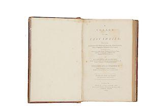 San Bartolomeo, Paolino da - Reinhold Foster, John. A Voyage to the East Indies... London, 1800.