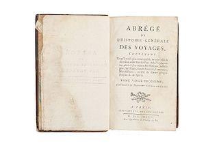 Abrégé de l'Histoire Generale des Voyages… Troisième Voyage de Cook. Paris: Chez Laporte, 1786. 4 láminas.