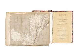 Henderson, George. An Account of the British Settlement of Honduras... London, 1809. Un mapa plegado.