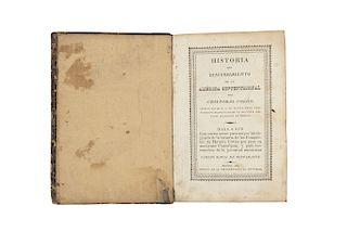 Bustamante, Carlos María de. Historia del Descubrimiento de la América Septentrional por Cristóbal Colón... Méx, 1826.