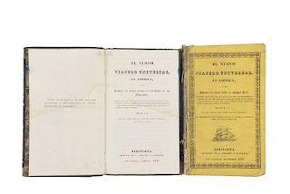 El Nuevo Viajero Universal en América / El Nuevo Viajero Universal en América. Barcelona, 1832 / 1833. Piezas: 2.