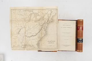 Latrobe, Charles Joseph. The Rambler in North America. London: Published by R. B. Seeley And W. Burnside, 1836. Piezas: 2.