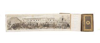 Stephens, John L. Incidents of Travel in Yucatan. New York: Harper & Brothers, 1843. Tomos I - II. Piezas: 2.