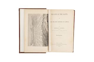 Burton, Richard F. The City of the Saints, and Across the Rocky Mountains to California. New York: Harper & Brothers, 1862.
