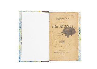 Ferry, Gabriel (Luis de Bellemare). Escenas de la Vida Mejicana. Barcelona: Alejandro Martínez, Editor, ca. 1900.