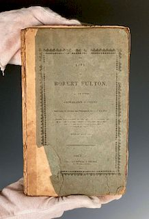 """The Life of Robert Fulton"" by his friend Cadwallader D"