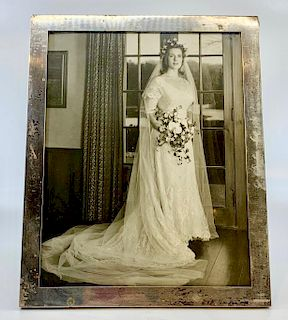 Webb Sterling Silver Picture Frame
