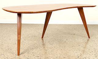 MID CENTURY MODERN BOOMERANG FORM COFFEE TABLE