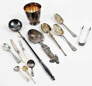 25 Pieces English Silver