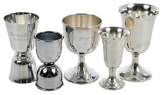 20 Sterling Cordial/Goblet/Jiggers