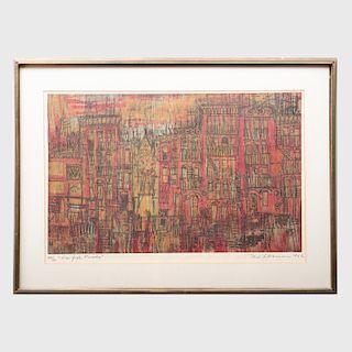 Mel Silverman (1931 - 1966): New York Façade