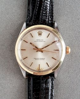 Rolex Two-Tone Oyster Perpetual Chronometer Watch