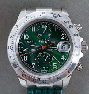 Rolex Tudor Prince Tiger Chrono Date SS Watch