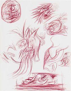 * Jackson Pollock, (American, 1912-1956), Number 22, c. 1939-40