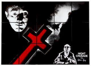 * Gilbert & George, (British, 20th century), Night Crusade, (in 15 parts) 1982
