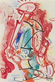 Hans Hofmann, (German, 1880-1966), Figurative, 1941