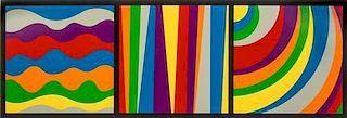 Sol LeWitt, (American, 1928-2007), Irregular Arcs, Bands and Loops, 1999