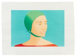 Alex Katz, (American, b. 1927), The Green Cap, 1985