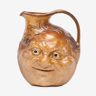 MARTIN BROTHERS Large double-sided face jug