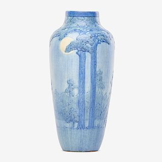 A.F. SIMPSON; NEWCOMB COLLEGE Fine large vase