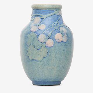 SADIE IRVINE; NEWCOMB COLLEGE Transitional vase