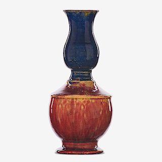 GEORGE OHR Fine baluster vase