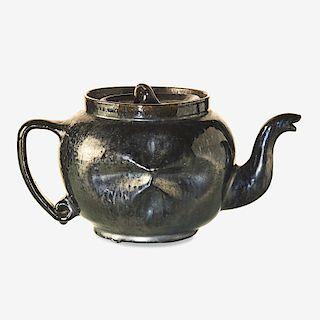 GEORGE OHR Fine teapot